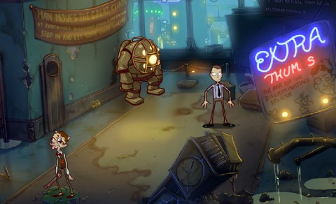 bioshock the unofficial flash game irrational games